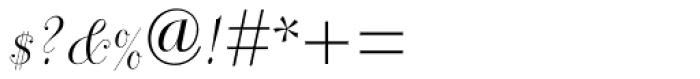 Dorchester Script MT Font OTHER CHARS