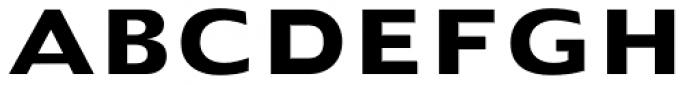 Doric Bold Font UPPERCASE