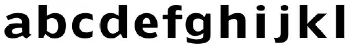 Doric Bold Font LOWERCASE