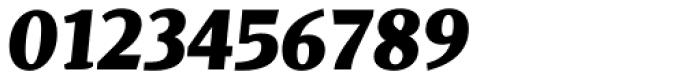 Dorica Black Italic Font OTHER CHARS