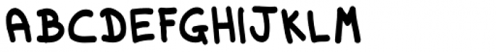 Dorkihand Cond ExtraBold Font UPPERCASE