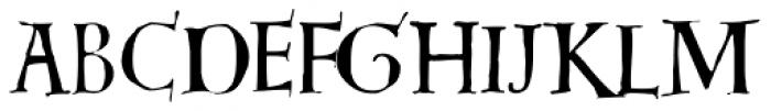 Dorsal Font LOWERCASE