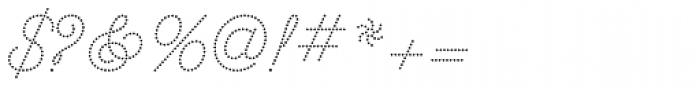 Dot Script Font OTHER CHARS
