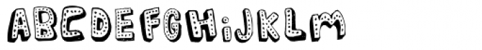 Dotface Font LOWERCASE