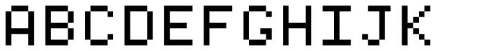 DottieSquare Font UPPERCASE