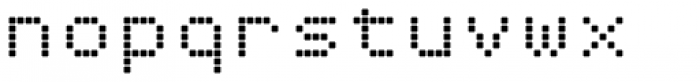 DottieSquareTwo Font LOWERCASE