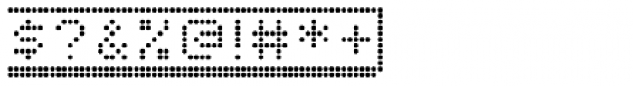 Dotto Deluxe Button Font OTHER CHARS