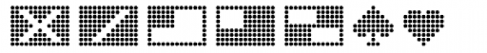 Dotto Deluxe Globbo Font UPPERCASE