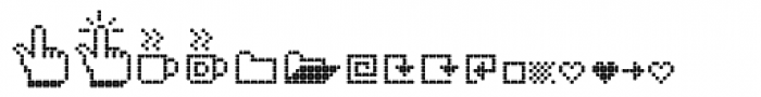 Dotto Too Font LOWERCASE