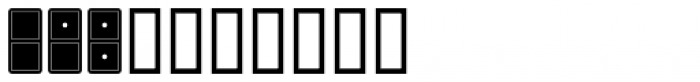 Double Nines JNL Font OTHER CHARS