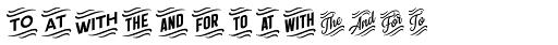 Double Porter 8 Font UPPERCASE