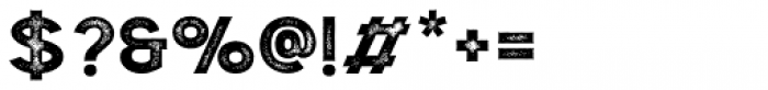 Double Porter P3 Font OTHER CHARS