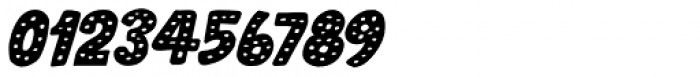 Doubledecker Dots Italic Font OTHER CHARS