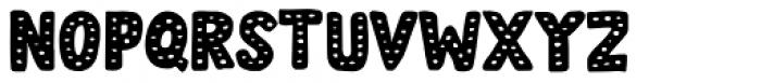 Doubledecker Dots Regular Font LOWERCASE