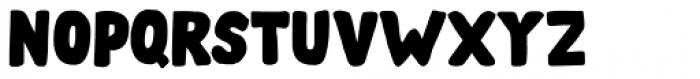 Doubledecker Regular Font UPPERCASE