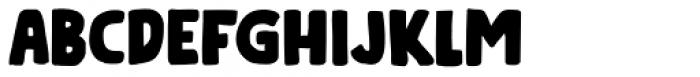 Doubledecker Regular Font LOWERCASE
