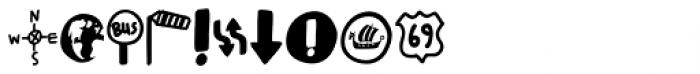 Doubledecker Stuff Regular Font OTHER CHARS