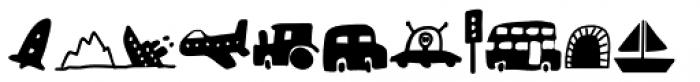 Doubledecker Stuff Regular Font UPPERCASE