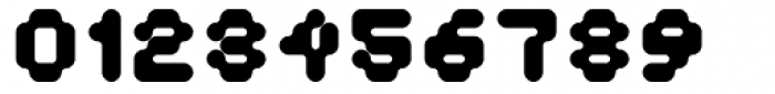 Doubleoseven ExtraBold Font OTHER CHARS
