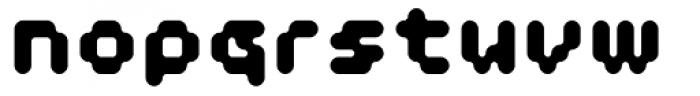 Doubleoseven ExtraBold Font LOWERCASE