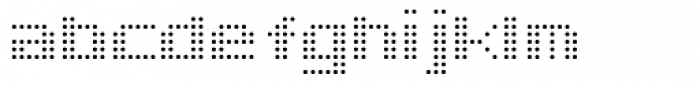 Doublepoint Light Font LOWERCASE