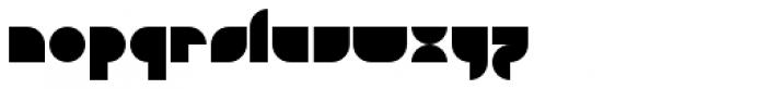 Doufff Font LOWERCASE
