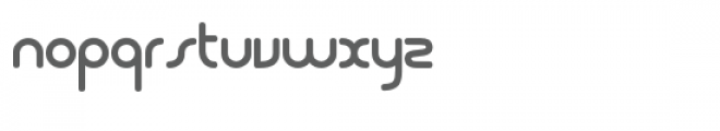 Dodopop Regular Font LOWERCASE