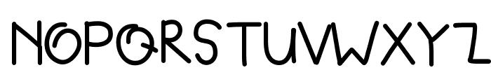 DPBloated Font UPPERCASE