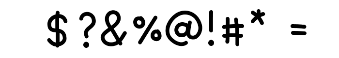 DPCutie Font OTHER CHARS