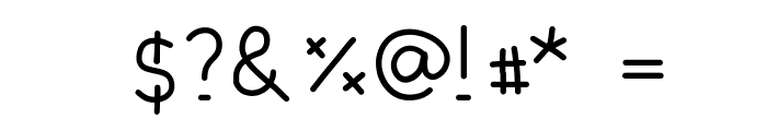 DPElionora Font OTHER CHARS