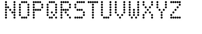 DPI Light Font UPPERCASE
