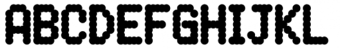 DPI Heavy Font UPPERCASE