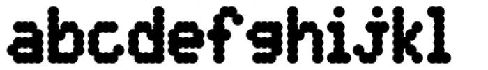 DPI Heavy Font LOWERCASE