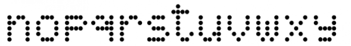 DPI Light Font LOWERCASE