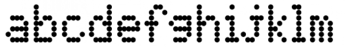 DPI Medium Font LOWERCASE