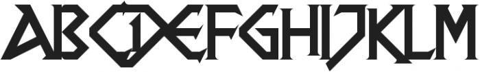 DragonSlapper ttf (400) Font UPPERCASE