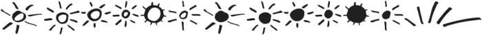 Dragonflight Pro Extra otf (300) Font LOWERCASE