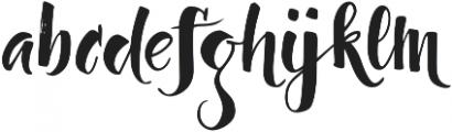 Dragonflight Pro Regular otf (300) Font LOWERCASE