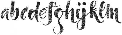 Dragonflight Pro Rough otf (300) Font LOWERCASE