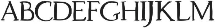 Dragonfly otf (400) Font UPPERCASE