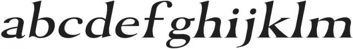 Dragonstone Regular otf (400) Font LOWERCASE