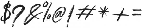 Dragtime Std otf (400) Font OTHER CHARS
