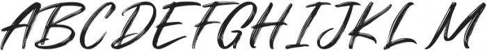Dragtime Std ttf (400) Font UPPERCASE