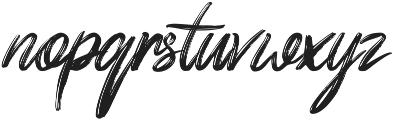 Dragtime Std ttf (400) Font LOWERCASE