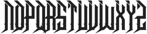 Dramaga otf (400) Font UPPERCASE