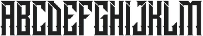Dramaga otf (400) Font LOWERCASE