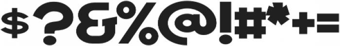 Draper Regular otf (400) Font OTHER CHARS