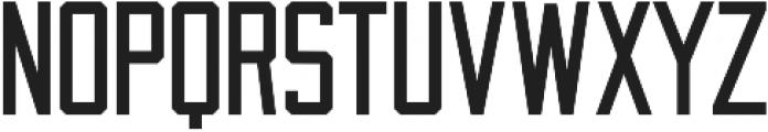 Draught Sans Serif - Condensed otf (400) Font UPPERCASE