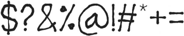 Drawsans otf (400) Font OTHER CHARS