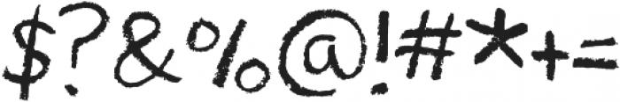 Drawzing Regular otf (400) Font OTHER CHARS